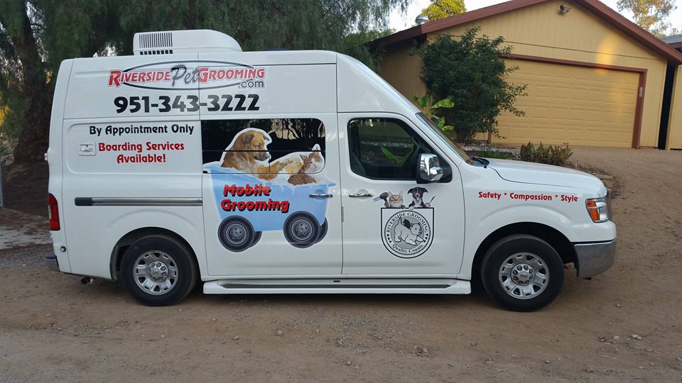 riverside mobile dog grooming